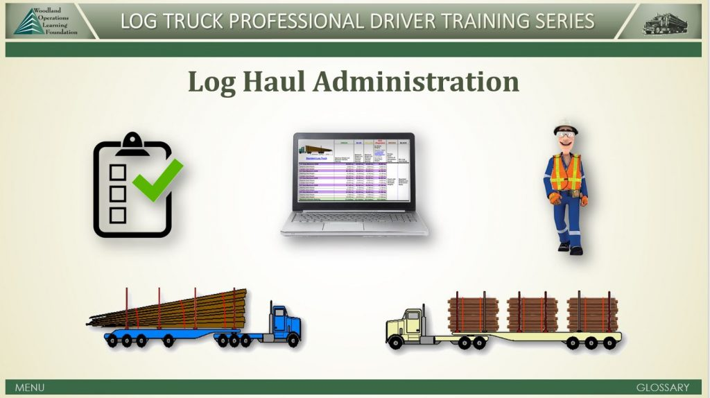 Log Haul Administration